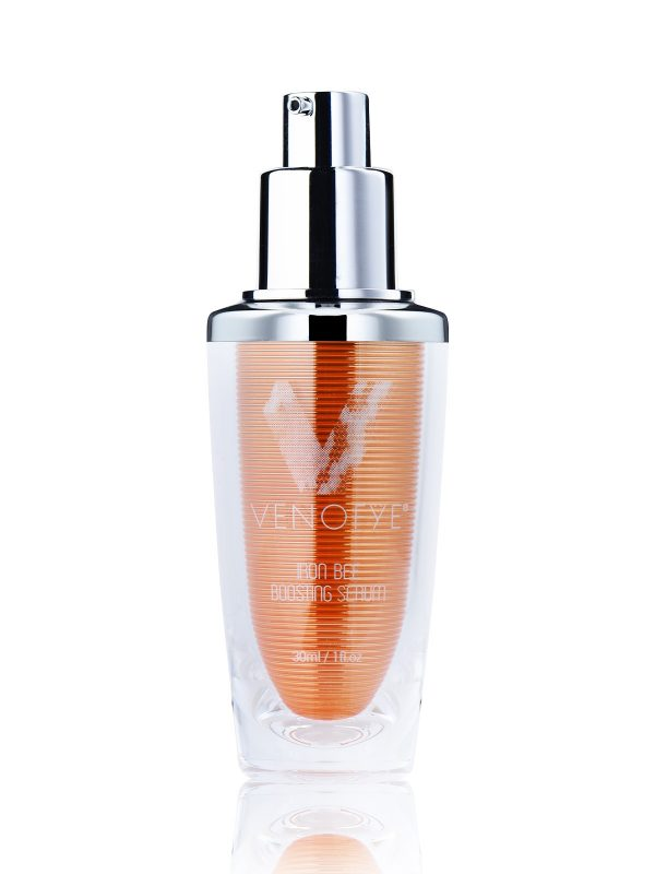 Iron Bee Boosting Serum with removed lid