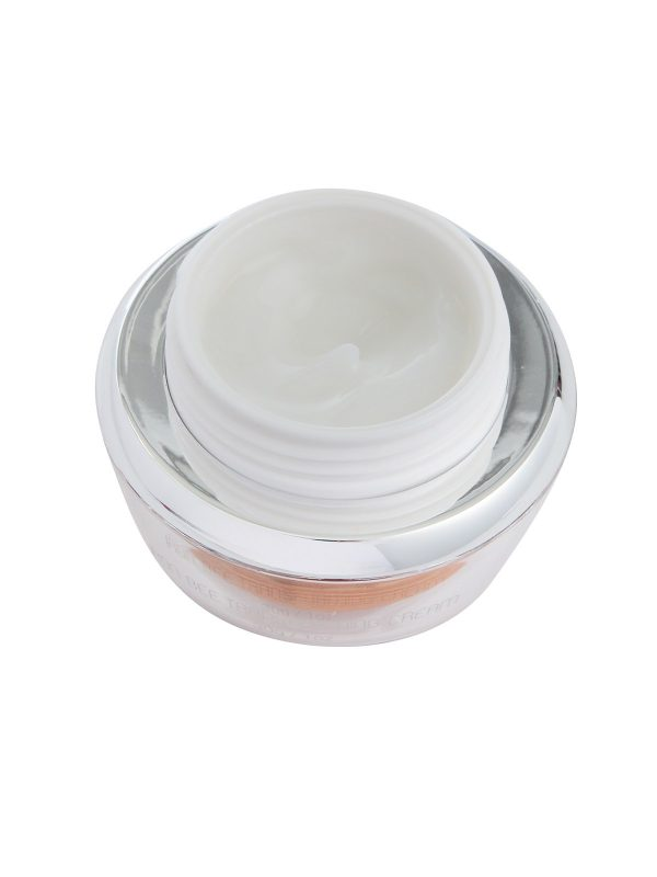 Iron Bee Transforming Cream with removed lid