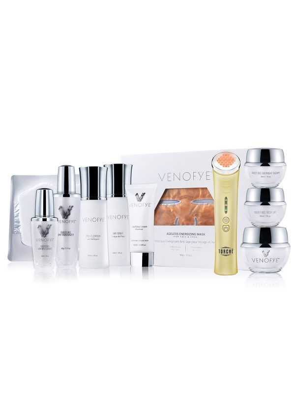 Queen Bee Collection + Ageless Energizing Mask with Jelessi-V2 + Amber