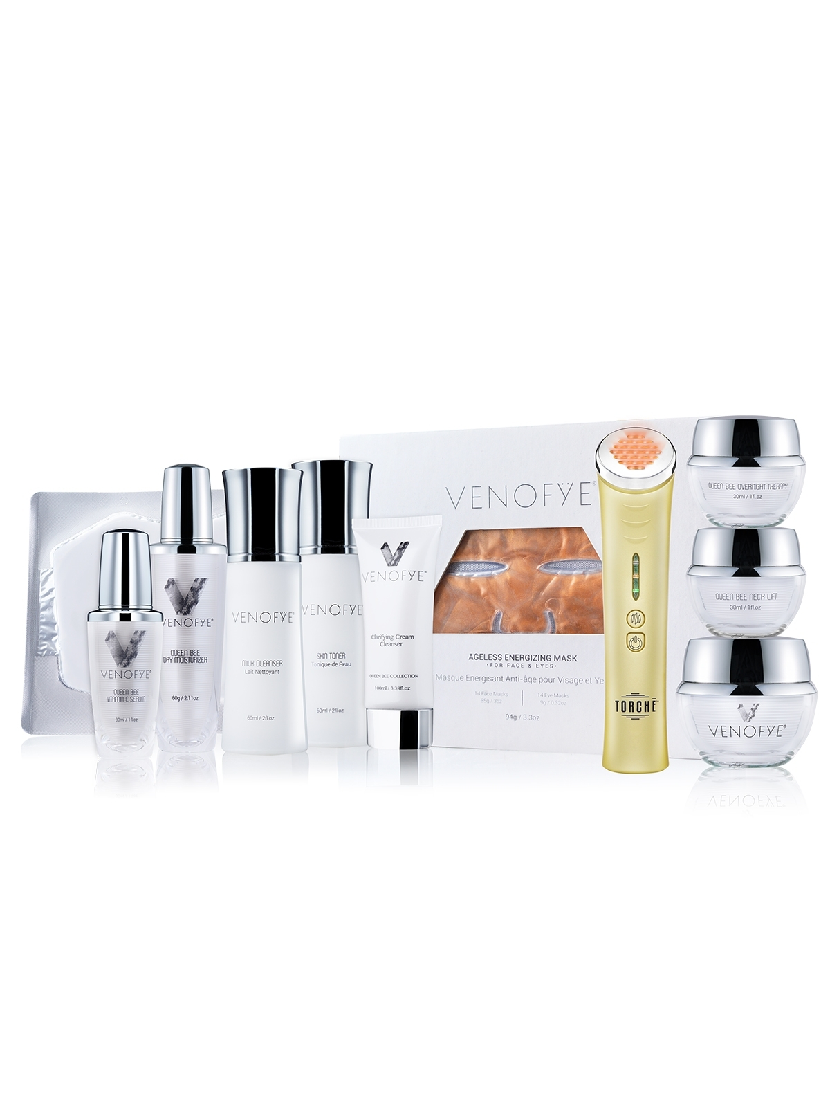 Queen Bee Collection + Ageless Energizing Mask + Jelessi-V2+ Amber