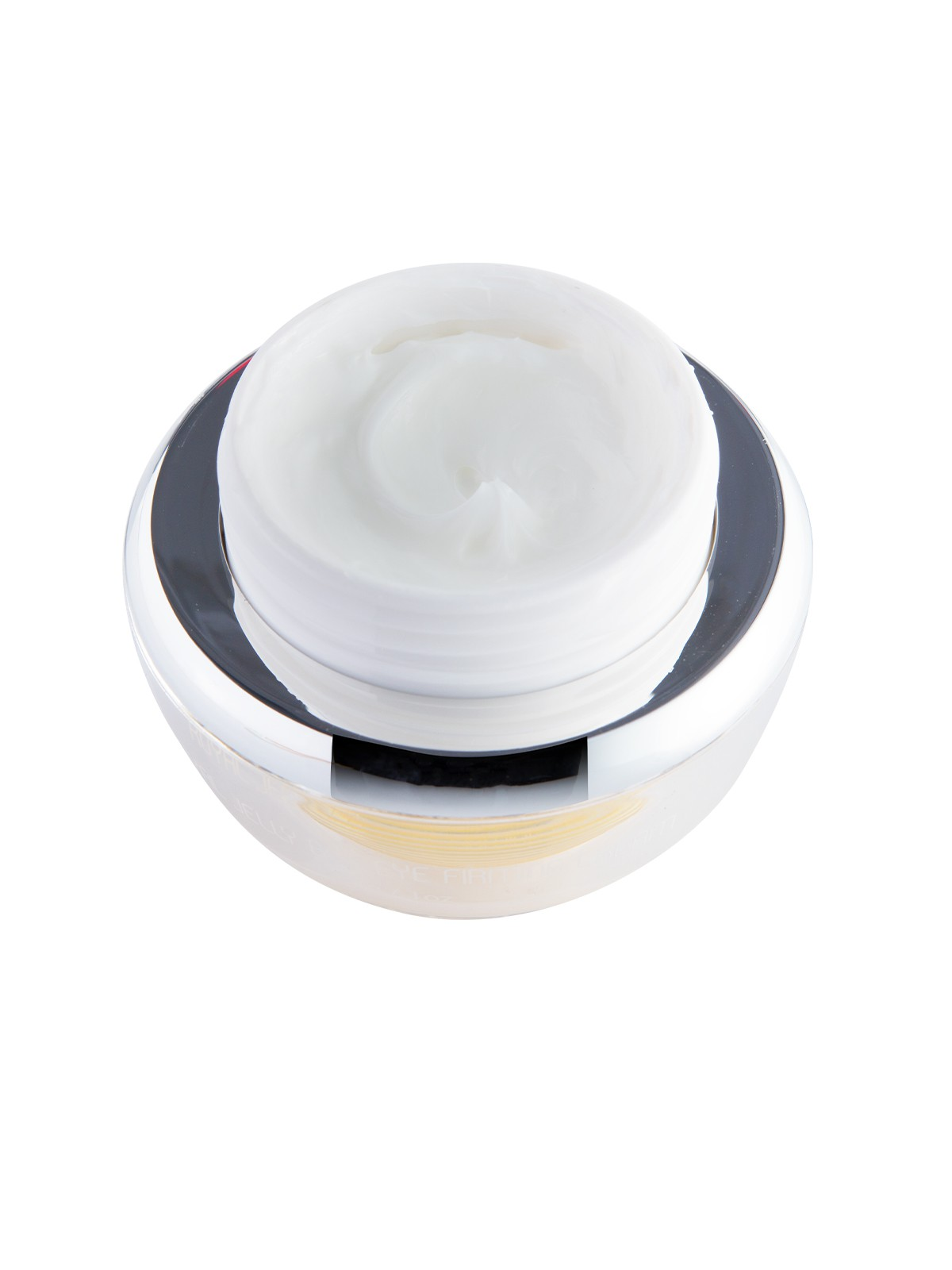 Royal Jelly Bee Eye Firming Cream with removed lid