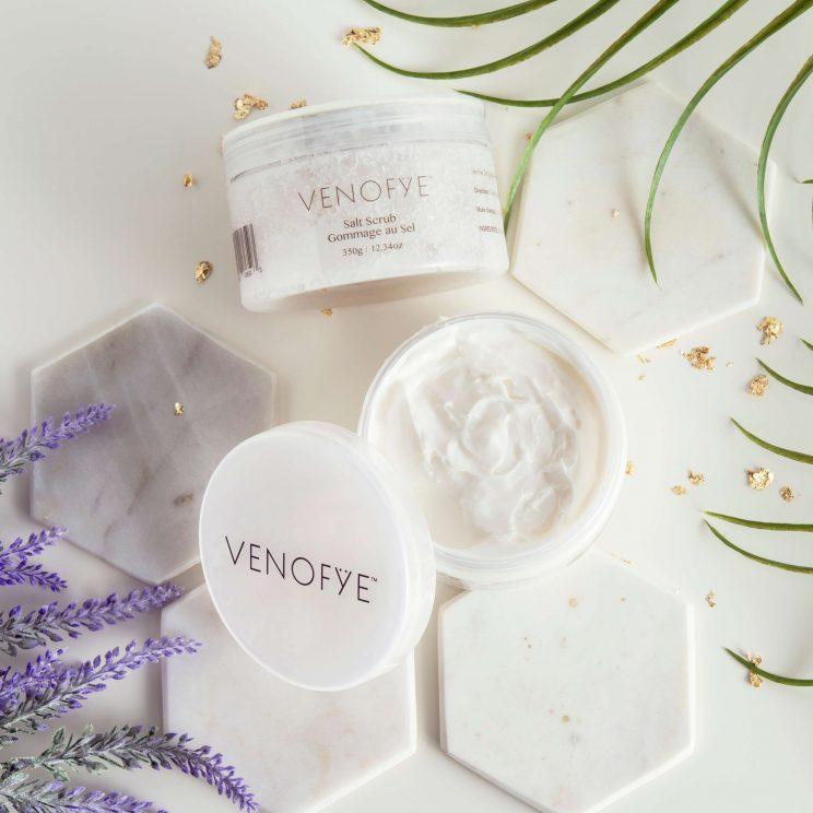 Venofye Salt Scrub and Body Butter