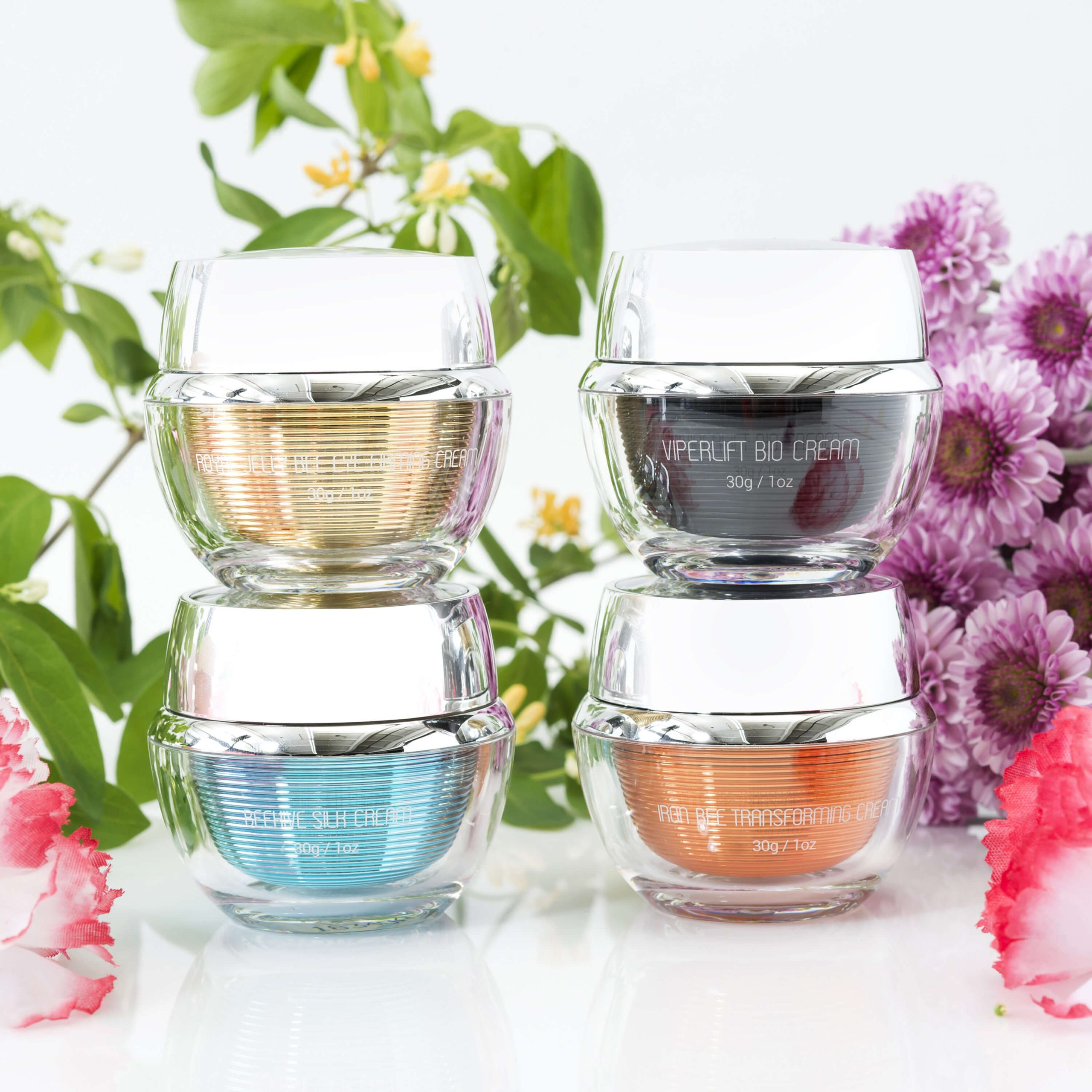 Bee venom skincare creams from Venofye